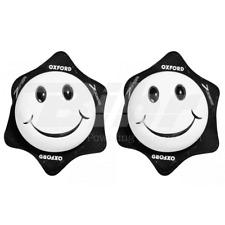 OXFORD KIT SAPONETTE TUTA MOTO PROTEZIONE SMILE FACCINA BIANCHE-NERE IDEA REGALO