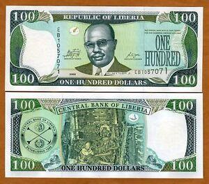 Liberia / Africa, 100 dollars, 2009, P-30e, UNC