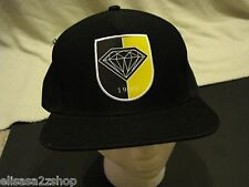Men's black RARE trucker hat cap 1998 Diamond supply CO company one size fits