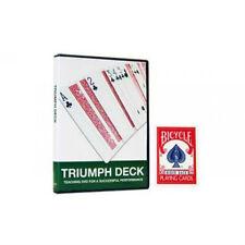 Bicycle Triumph Deck - Includes Teaching DVD - Magic Tricks - New