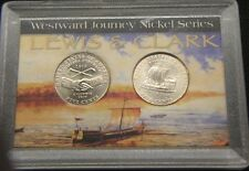 2004-TYPE I & 2~~WESTWARD JOURNEY(2) COIN SET IN DISPLAY CASE