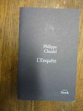 L'Enquête / Philippe Claudel