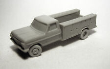 N-Scale Willmodels '67 Ford F350 Utility/Service Truck, Resin Kit