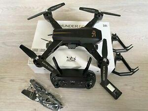ScharkSpark Thunder Drohne mit Live-Video-Kamera, RC Quadcopter mit 2 Batterien