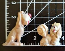 Lady And The Tramp - Disney - Two Wade figurines of Trusty and Peg (1960s)