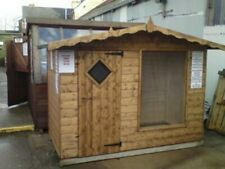 DOG/CAT KENNEL WITH RUN. Luxury chalet style