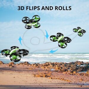 Holy Stone HS210 Mini Drone Auto Hovering 3D Flip speed switch Headless mode