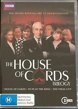 House Of Cards Trilogy (DVD, 2011, 3-Disc Set)   BRAND NEW