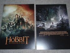 LORD of the RINGS THE HOBBIT The DESOLATION of SMAUG Japan program pressbook !!