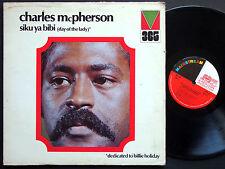 CHARLES MCPHERSON Siku Ya Bibi LP MAINSTREAM MRL 365 JAZZ Sam Jones Barry Harris