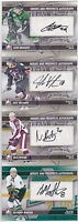 13-14 ITG Nick Ritchie Auto Heroes And Prospects Autograph 2013