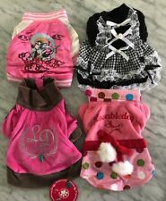 NEW LOT OF 4 DOG CLOTHES SIZE XS Chihuahua Yorkie Great Quality Wholesale LOT 5