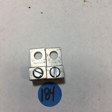 Burndy Ka6U Mechanical Connector Lugs, 6-14 Cu9Al, Lot of 2 (#184)