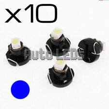 10 Blue SMD LED T3 Neo Wedge 12v Interior LED Bulb