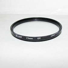 Used Jessop UV Protection 77mm Lens Filter Made in Japan S232625