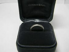 Mm Wedding Band Size 7 Tiffany & Co Platinum Mens 4