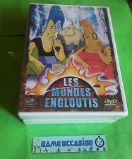 LES MONDES ENGLOUTIS 7,8,9,10 COFFRET 4 DVD NEUF SOUS BLISTER