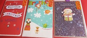 Christmas Cards - Brother (large post)