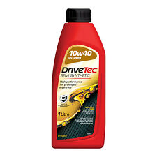 Drivetec 10W40 Engine Oil 1L Litre Semi Synthetic High Performance ACEA A3/B3
