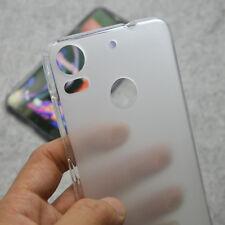 For HTC Desire 10 Pro White TPU Matte Gel skin case back cover