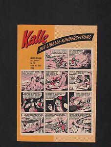 Kalle Libelle Kinderzeitung 1954 im Zustand (0-1/1) - ( 1 ) 24 verschiedene