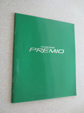 1998 Toyota Corona Premio automobile advertising booklet