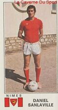 N°237 DANIEL SANLAVILLE # NIMES OLYMPIQUE STICKER PANINI FOOTBALL 1977