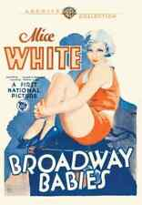 Broadway Bebés DVD 1929 Alice White, MARION BYRON, Sally Eilers Charles DELANEY