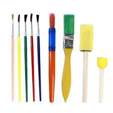 9pcs / Set DIY Graffiti Sponge Brushes Seal Painting Tools Set for Children W