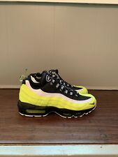 24439c4c5c1c7 Nike Air Max 95 PRM Volt Size 9 Mens Shoes 538416-701 Black Neon Volt