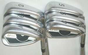 Ping G400 irons 5-PW with Ping AWT 2.0 regular flex steel shafts