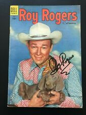 Roy Rogers Comics #90 (Dell, 1955) Golden Age Comic - SIGNED BY ROY ROGERS - VF