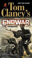 Tom Clancy's Endwar: The Missing, Telep, Peter, Good Book