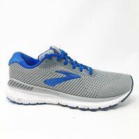 Brooks Mens Adrenaline GTS 20 1103071D051 Grey Blue Running Shoes Size 9 D