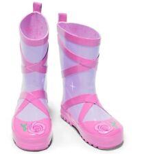 Calzado de niña botas de agua rosa
