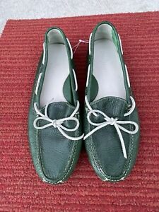 Cole Haan Loafers Driving Shoes Green Sz.12 Style C10666