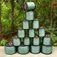 Green 8 Strands 300M-1000M Spectra PE Dyneema Braided Fishing Line 12LB-160LB