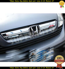 2007 2008 2009 Honda CR-V CRV chrome front grille covers COVERS Trims 08 09 07