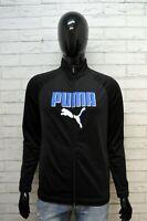 Felpa PUMA Cardigan Uomo Taglia 46 M Pullover Sweater Man Maglione Sweatshirt