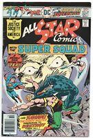All Star Comics 62 DC 1976 FN VF Power Girl JSA Superman Hawkman