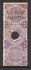 1866/68 India Bft:13 8R. LILLA. piccola causa Corte Calcutta ricavi.