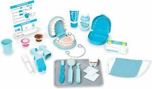 Melissa and Doug Dentist Kit Role Play Set - Super Smile Gift