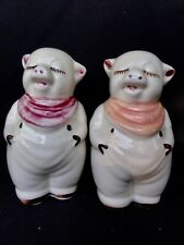 Shawnee Pair Of Pig Salt & Pepper Shakers Both For One Money