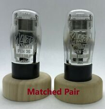 PEN25 CV65 Mazda matched pair 2 pieces NOS tube valve