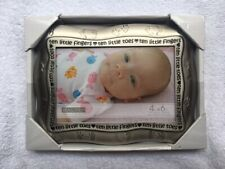 "Malden Intl. Designs 4x6 ""Ten Little Fingers, Ten Little Toes picture frame Nice"
