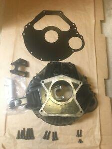 Ford SB Hydraulic Clutch Bellhousing, Spacer, Bracket, W/New Slave Cylinder