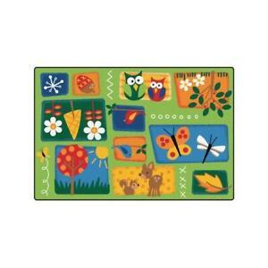 Carpets For Kids 3401 Nature ft.s Toddler 4 ft. x 6 ft. Rectangle Rug