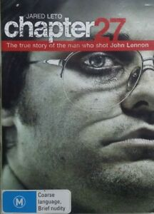 Chapter 27 DVD Jared Leto True Story about Beatles John Lennon