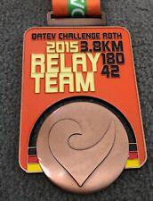 Challenge Roth Medaillie 2015 - Triathlon Finisher Medal