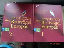 Teil 1 + 2 Enzyklopädie der Brutvögel Europas Kosmos